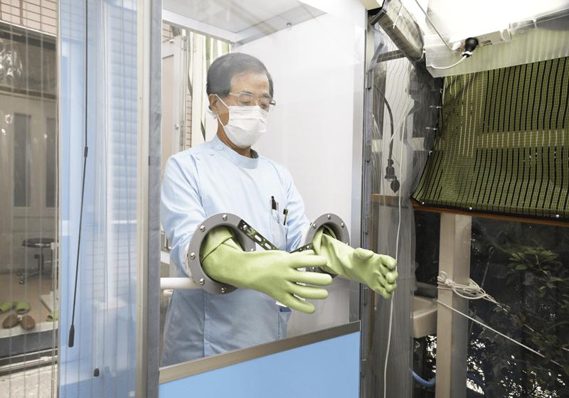 新型コロナウイルス感染症診察室